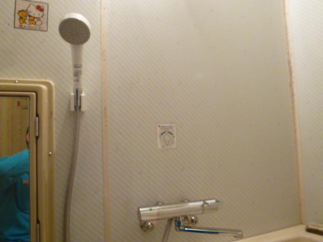 大阪市城東区 浴室シャワー水栓取替工事