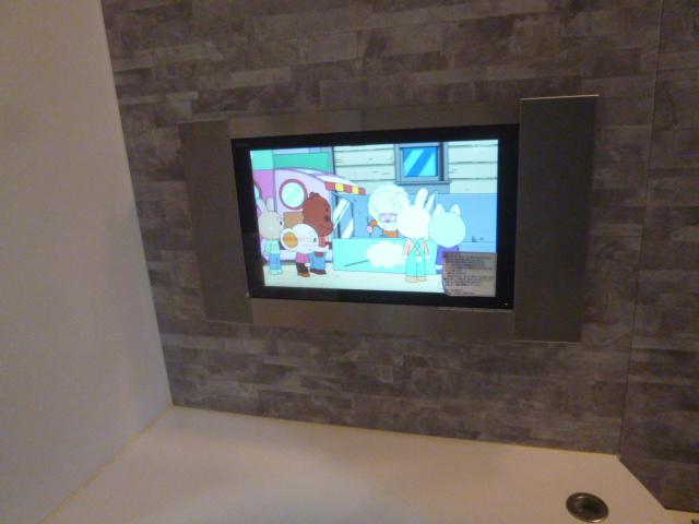 大阪市福島区 浴室テレビ取替工事