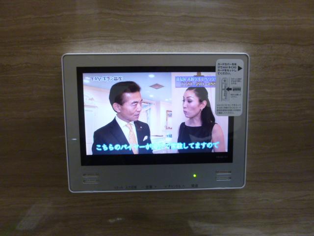 大阪市淀川区 浴室テレビ取替工事